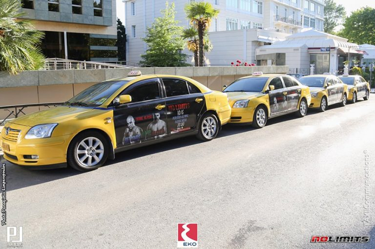 Διαφήμιση σε ταξί - taxi ad, No Limits, by TAXI Communications Advertising Agency - taxicomm.gr